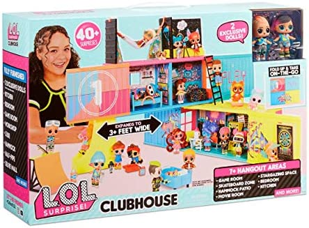 L.O.L. Surprise! Clubhouse Playset with 40+ Surprises and a couple of Exclusives Dolls (569404E7C)