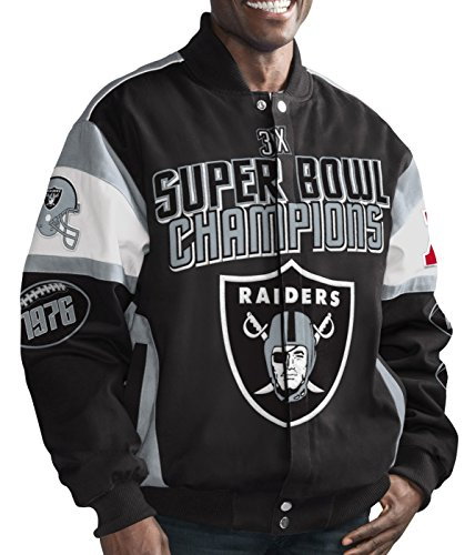 G-III Super Bowl Cotton Twill Commemorative Jacket (Twill Championship Jacket)