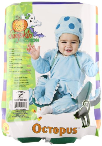 Rubie's Deluxe Octopus Costume, Blue, -