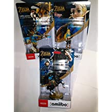 Zelda Amiibo, Link Archer, and Link Rider Amiibo Character 3 pack Bundle for Nintendo Switch Nintendo 3DS and Wii U (WiiU)