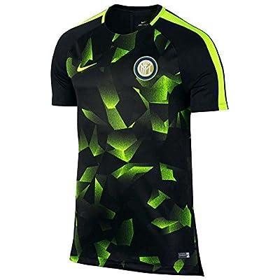 2017-2018 Inter Milan Nike Pre-Match Training Shirt (Black)