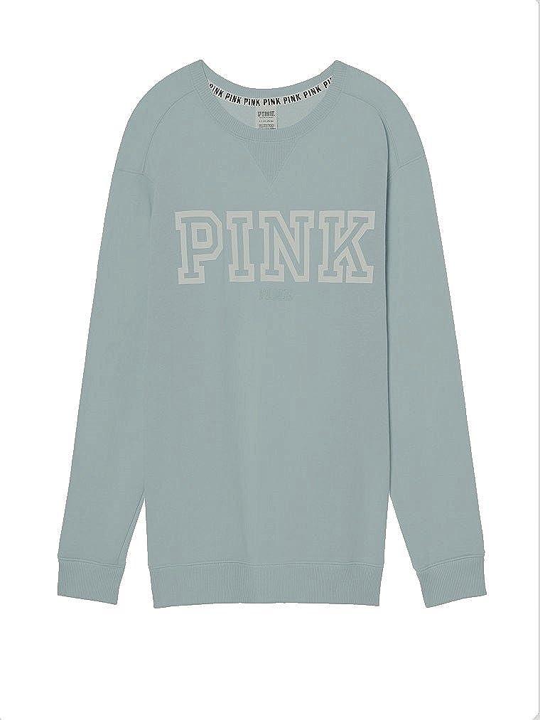Neuf avec étiquettes Victorias Secret Pink Campus Côtelé Pull Sweat Taille M
