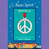 Handmade Pewter Ornament - Peace Sign by Basic Spirit