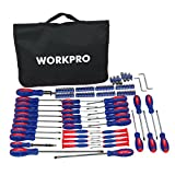 WORKPRO W000808A 130-Piece Screwdriver with Carrying Bag