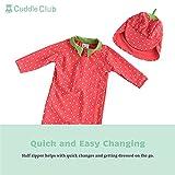 Cuddle Club Baby Sunsuit - RashguardStrawberry3-6m