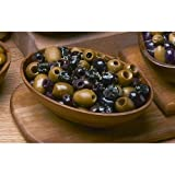 Mixed Mediterranean Blend Pitted Olives - 11 Lb Tub