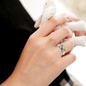 925 Solid Silver Ring-6x8 mm Natural Oval Citrine Ring-Dainty Oval Citrine Ring-November Birthstone Ring-Handmade Silver Ring-Designer Ring