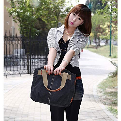 Tela Di Moda Chengyi Tracolla Borse Viaggio A Da Borsa Casual Brown qx1HYw