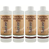 Descaling Solution Coffee Machine Descaler – Universal, For Drip Coffee Maker and Keurig Coffee Machines Descaling & Cleaning Solution, Breaks Down Mineral Buildup and Limescale - Pack of 4