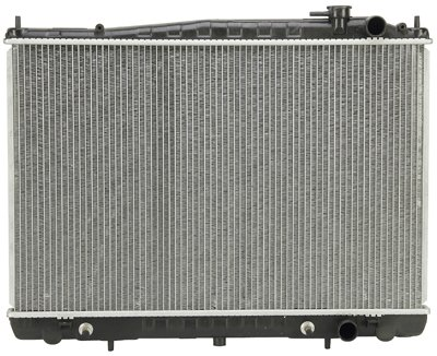 Prime Choice Auto Parts RK822 New Complete Aluminum Radiator (2000 Nissan Frontier Radiator)
