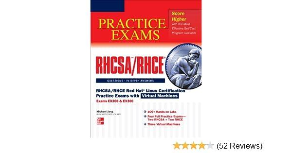Amazon.com: RHCSA/RHCE Red Hat Linux Certification Practice Exams ...