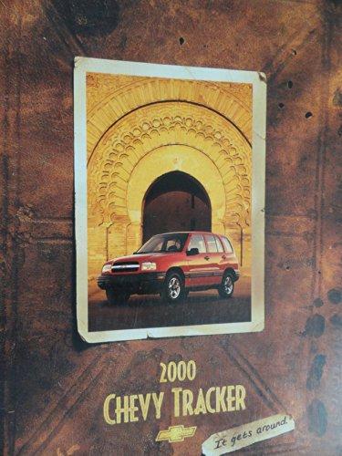 2000 Chevy Chevrolet Tracker Sales Brochure
