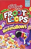Kellogg's Froot Loops Cereal, Marshmallow, 12.6-Ounce Boxes (Pack of 4)