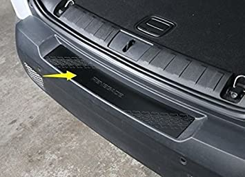 For Jeep Renegade 2015-2017 Aluminum Rear Outer Bumper Protector Guard Plate