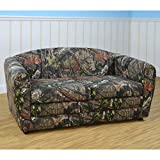 Kangaroo Trading Pink Mossy Oak Tween Sleeper Sofa