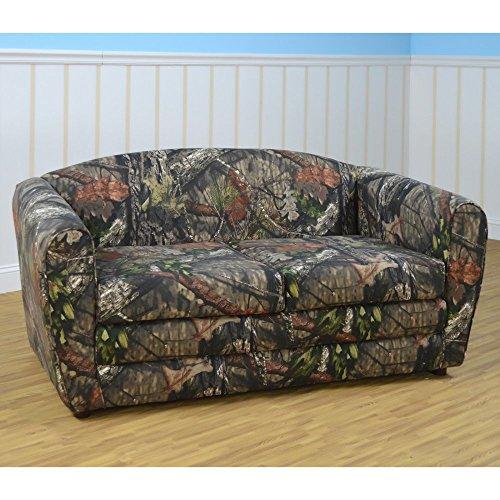 Kangaroo Trading Pink Mossy Oak Tween Sleeper Sofa by Kangaroo Trading