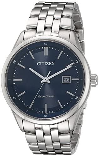 Citizen Men's Eco-Drive Stainless Steel Watch with Date, BM7251-53L