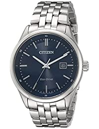 Citizen Watches Men's BM7251-53L Contemporary Dress Silver Tone Stainless Steel Watch