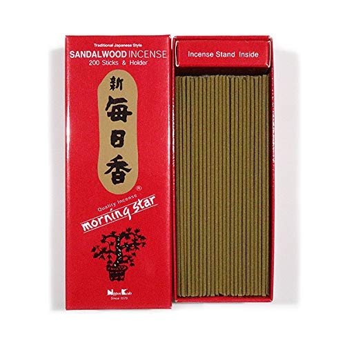 (Nippon Kodo - Morning Star - Sandalwood 200 Sticks     )