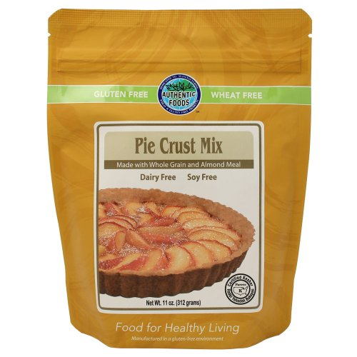 Authentic Foods Gluten Free Pie Crust Mix, 11 Ounce