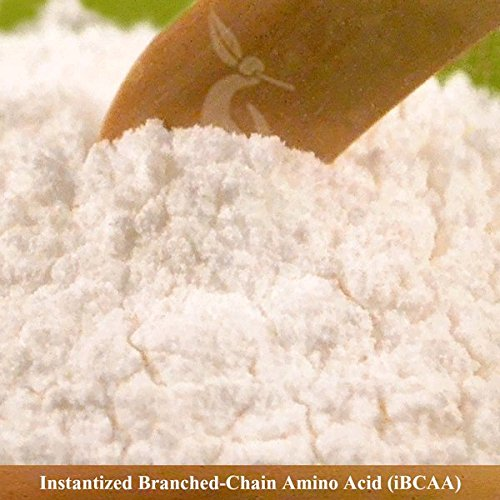 Pure Instantized Branched Chain Amino Acid Bulk Powder (4 Kilograms) by Noble Elephant Supplements