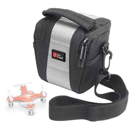 DURAGADGET Shock-Absorbing Water-Resistant Drone Case in Cross-Body / Shoulder Bag Style for the BlueBeach Mini Quadcopter CX10