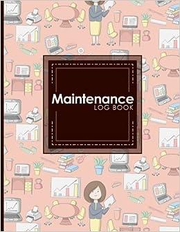 maintenance log book repairs and maintenance record book for cars