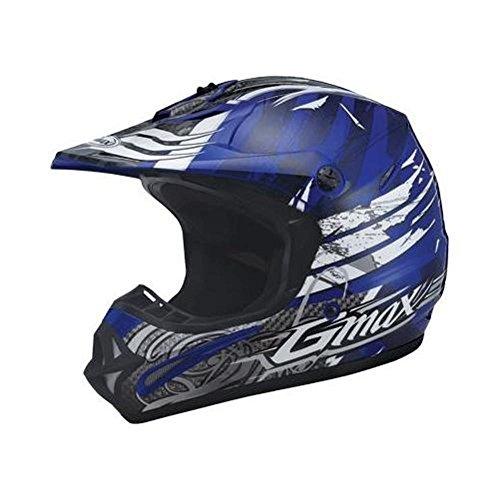 G-Max Visor for GM46X Helmet - Cool Blue Future - Md-3XL -