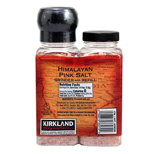 Kirkland Signature Expect More Himalayan Pink Salt, 26 oz. (1.62) lb