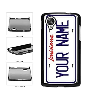 diy phone casePersonalized Custom Louisiana License Plate Plastic Phone Case Back Cover Nexus 5diy phone case