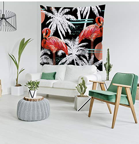 ME COO Flamingo Tapestry Flat Print Belongs to