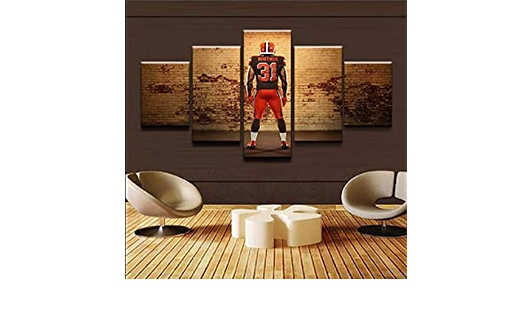 mmwin Canvas s Wall Art Work 5 Piezas Sport Rugby Player ...