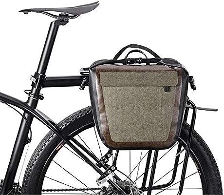 JZFUKSP Bolsa de alforjas de Bicicleta de 18L Bolsa Impermeable ...
