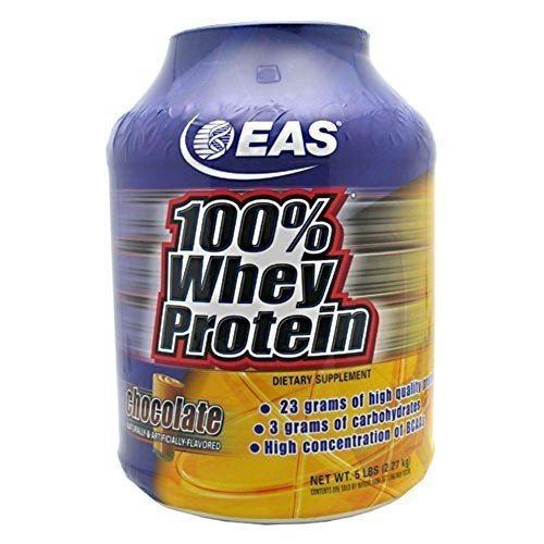 100%Whey Protein Powder, Choclt, 5 lb ( Multi-Pack) by EAS by EAS