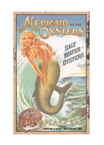Ohio Wholesale Mermaid Advertising Sign Wall Art, from our Water Collection For Sale