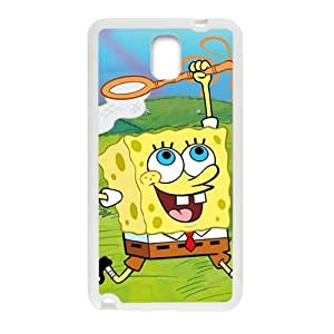 Lovely SpongeBob Cell Phone Case for Samsung Galaxy Note3