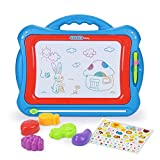 7 year old girl drawing - NextX Magnetic Drawing Board Write and Learn Creative Toy (Blue-Red)