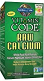 Garden of Life Vitamin Code RAW Calcium, 60 Capsules