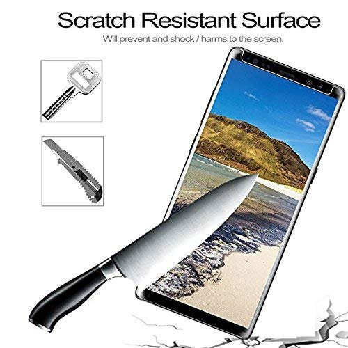 [ 2 Pack ] Galaxy Note 9 Privacy Screen Protector, Cenmein Premium [3D Curved] [Case Friendly] [Anti-Scratch] 9H Hardness Tempered Glass Film Screen Protector for Samsung Galaxy Note 9