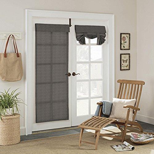 (Parasol 15930026068SMK Key Largo 26-Inch by 68-Inch Patio Indoor / Outdoor French Single Door Panel, Smoke)