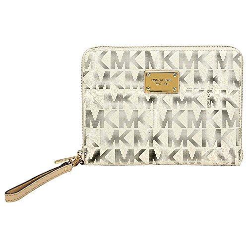 Michael Kors Mini Vanilla PVC Multifunction Tablet Case