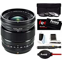 Fujifilm XF 16mm/1.4 R WR Lens For X-Series + Accessory Bundle