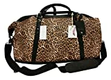 Jessica Simpson Sierra Travel Tote Luggage Chic Leopard