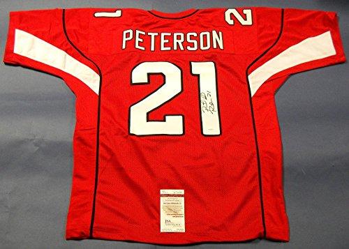 Patrick Peterson Autographed Jersey - JSA Certified - Autographed NFL Jerseys - Peterson Autographed Jersey