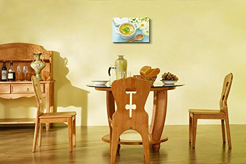 Still Life Delicious Soup Food Kitchen Concept Wall Decor