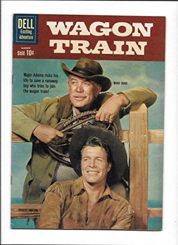 WAGON TRAIN #8 [1961 VF+] PHOTO COVER