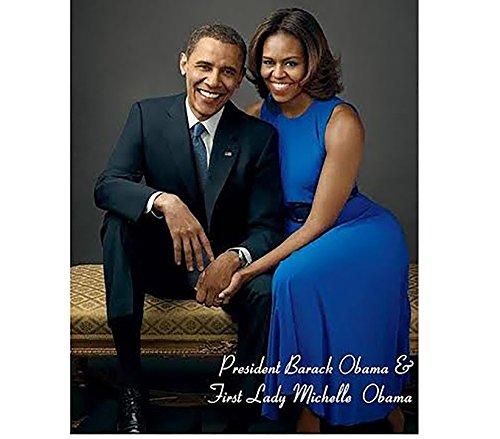 Obama Mini Poster - President Obama & First lady Michelle