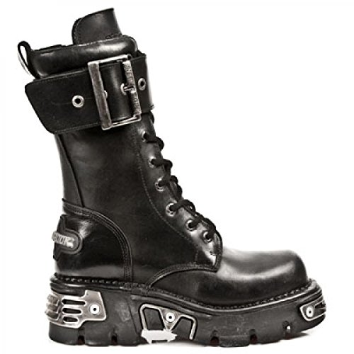 Nuovi Stivali Di Roccia M.583-r1 Gotico Hardrock Punk Stiefel Unisex Schwarz