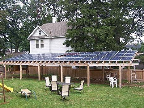 Módulo solar monocristalino de 100 vatios y 18 V Kit de 12 v con enchufe MC4 Controlador 10A para caravana camper Cargador de 12 v: Amazon.es: Industria, empresas y ciencia