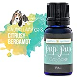Agatha's Pet Wellness Pup Pup Cologne – Calming Blend Lavender & Bergamot Essential Oils – No Artificial Fragrances – Organic – Fresh Smelling Dog Cologne – Economical - Long Lasting 15-ml. Bottle